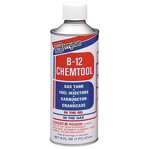 Berryman 0116 B-12 Chemtool Carburetor Fuel Treatment and Injector Cleaner