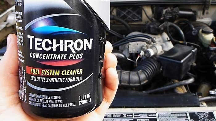 Figure 4: Techron fuel system cleaner